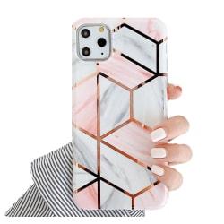 Marmor skal för iPhone 11 Pro - Lyx Marble / Rosa C4U® Rosa