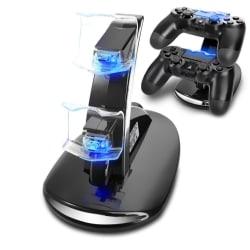 Playstation 4 / PS4 Laddstation dockstation För handkontroll lad