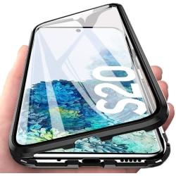 Premium Galaxy S20 Stötdämpande magnet Skal med glas C4U® Svart