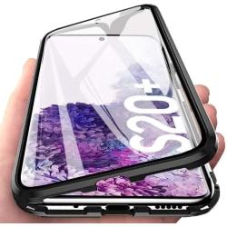 Premium Galaxy S20+ Stötdämpande magnet Skal med glas C4U® Svart