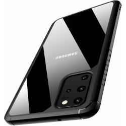 Samsung Galaxy S20 ShockBlack - Slimmat genomskinligt skal C4U® Svart