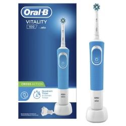 Elektrisk Tandborste Oral-B Vitality 100 Cross Action Svart