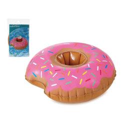 Uppblsbara burkställ Donut Rosa (25 X 23 cm)