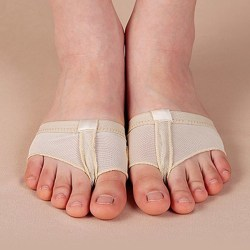 1 pair Belly Ballet Dance Toe Pad Practice Shoe Foot Thong Care A 35