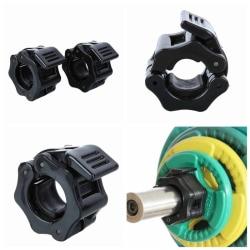 25 mm Dumbbells Barbell Clamps Collars Lock Fitness Equipment 1 pair