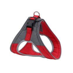 Adjustable Dog Harness Breathable For Dog Vest Supplies Red L