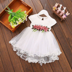 Baby Girl Clothes Summer Floral Print Sleeveless Party Dress W 12M