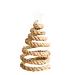 Christmas Tree Spiral Spring Santa Hat Xmas Tree Topper Decor C
