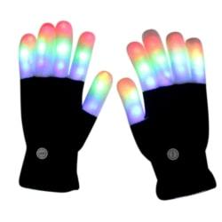 LED Gloves Warm Gloves LED Gloves 7 Light Modes Finger Light 5