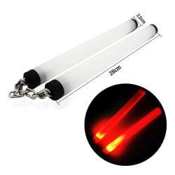 LED Nunchakus Glowing Fluorescent Performance Kongfu Sticks Toy