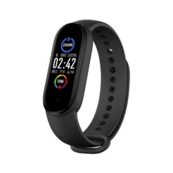 M5 Smart Bracelet Bluetooth Waterproof Watch For IOS Android Black