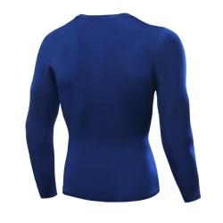 Mens Compression Top Long Sleeve Tights Sports Running T-shirts L L