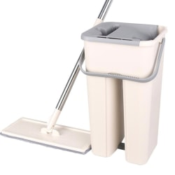 Mop Wash Tablet Automatic Dehydration Floor Mop Bucket Set B