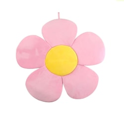Newborn Baby Bathtub Foldable Blooming Bath Tub Pillow mat Pink as shown