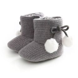 Newborn Baby Boots Toddler Girls Boys Winter Warm Boots Infant 3 7-12 Months 7-12 Mo