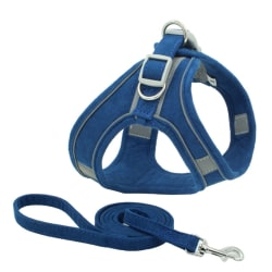 Pet Chest Harness Reflective Breathable Dog Leash Small Dog Vest L S