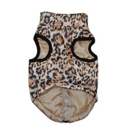 Sällskapsdjur Hundkläder Leopardmönster Valp Hundar Västkläder