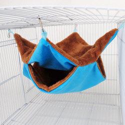 Pet Hammock Double-layer Plush Warm Hanging Nest Sleeping Bed L L