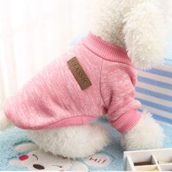 Valpkläder Warm Pet Dog Jacket Jacka Coat Winter Soft Sweater