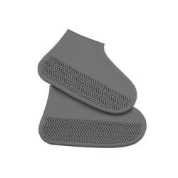 Regntäta skor täcker återanvändbara tjockare silikon regnstövlar
