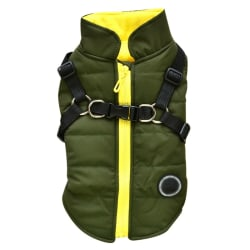 Small Dog Vest Harness Pet Winter Warm Outfit Padded Jacket G XXL