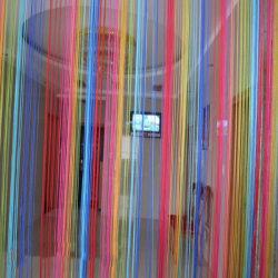 Sweet String Line Curtain Door Window Decor Room Divider Curtain Multi