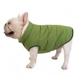 Warm Dog Coat 2-layer Fleece Lining Pets Warm Coat Hoodie Soft G L