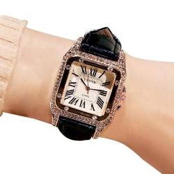 Watches Women Fashion Small Dial Quartz Wrist Watch Casual B