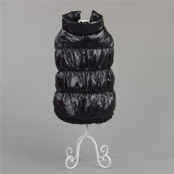 Winter Dog Clothes Pet Padded Vest Coat Jackets Puppy Warm Black M