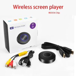 Wireless WiFi Display Receiver TV Media Adapter 1080P HD A
