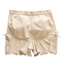Kvinnor Säkerhet Hip Lift Byxor Mjuk bomullsmaterial Safty Shorts