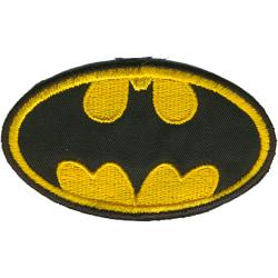 Batman Broderat Tygmärke