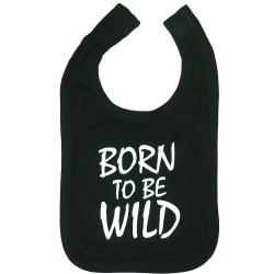 Born To Be Wild Svart Haklapp