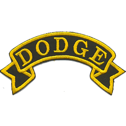 Dodge Broderat Tygmärke