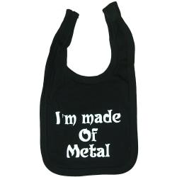 I'm Made Of Metal Svart Haklapp