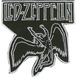 Led Zeppelin Broderat Tygmärke