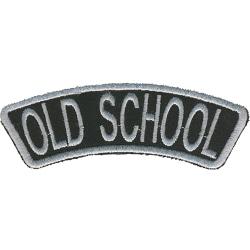 Old School Broderat Tygmärke