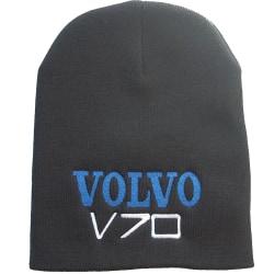 Volvo V70 Broderat På Mössan