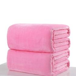 1 st Baby kanin stickad flanell filt sängkläder Quilt Play Blan