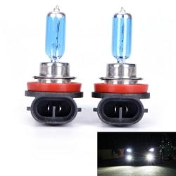 2st H11 12V 55W Super Bright Ultra White Fog Halogen Bulb Car