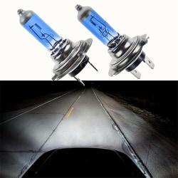 2PCS/Set 100W White H7 Xenon Gas Halogen Headlight Light Lamp Bu One size