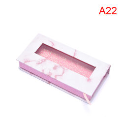 5pack eyelash packaging box packaging lashes square empty case A22