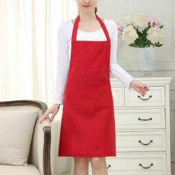 Förkläde Tow Pocket Chefs Slaktare Kök Matlagning Craft Catering B
