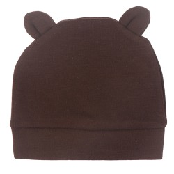 Autumn Winter New Baby Hat   baby  Fashion Ears BonnetToddler Ki Coffee