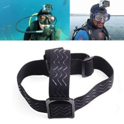 Camera accessories elastic adjustable headband belt headlight l one size