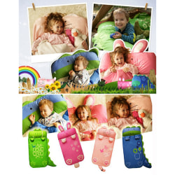 Cartoon Children Sleeping Bag Soft Comfortable Easy to Carry Nap