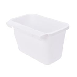 Creative Doors Hang Trash Baskets Desktop Box Garbage Kitchen Ca White 20*13*14cm