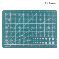 Cultural and educational tools A4A5 double-sided cutting pad ar 2(A5 Green)