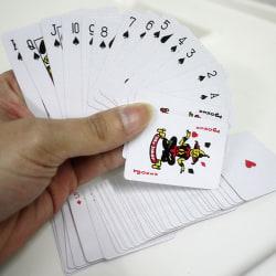 Söt Mini Poker Små spelkort Familjspel Resespel 5.3