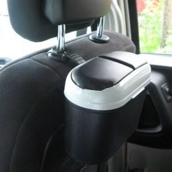 Mode Auto bil sopor skräp kan skräp damm soptunna Cas Grey One Size